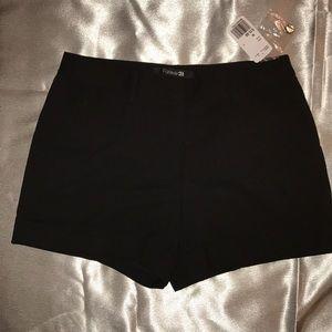 NWT Forever 21 Black Shorts